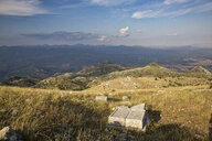 Greece, Peloponnese, Arcadia, Lykaion, antique cultic site of Zeus below mountain Profitis Ilias - MAMF00326