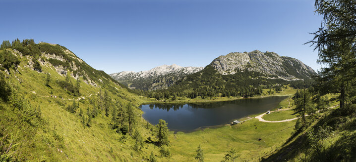 Austria, Styria, Tauplitz, Totes Gebirge, Lake Grosssee - WWF04775