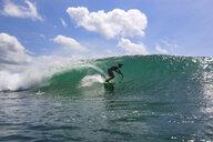 Indonesia, Bali, Kuta, surfer - KNTF02596