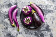 Various sorts of aubergines - SARF04043