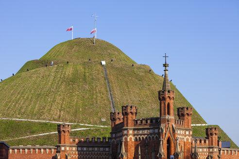 Poland, Krakow, Kosciuszko Mound - ABOF00386