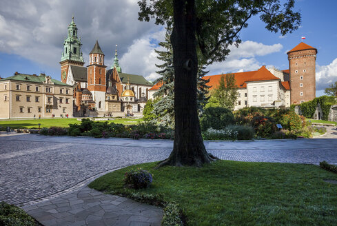 Poland, Krakow, Wawel Cathedral and Royal Castle - ABOF00395
