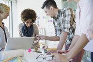 Creative business people meeting in office - HEROF04234