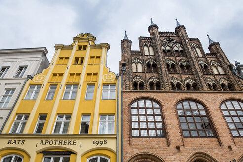 Germany, Stralsund, Historical houses, UNESCO world heritage - RUNF00912