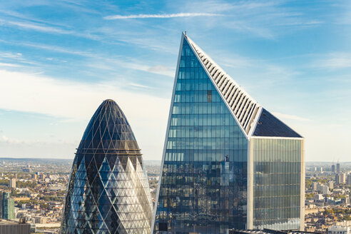 United Kingdom, England, London, financial district, The Gherkin - TAM01120