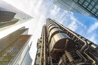 United Kingdom, England, London, modern financial disctrict, Liverpool street - TAMF01123