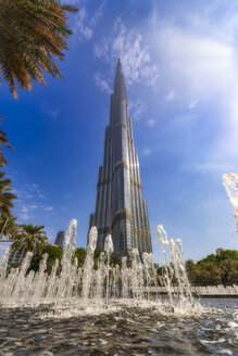 Middle East, United Arab Emirates, Dubai, Burj Khalifa - SMAF01167