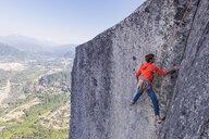 Rock climbing, Squamish, Canada - CUF46937