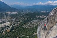 Rock climbing, Squamish, Canada - CUF46943