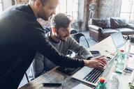 Designers brainstorming in studio - CUF47276