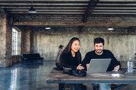 Designers at work in studio - CUF47288