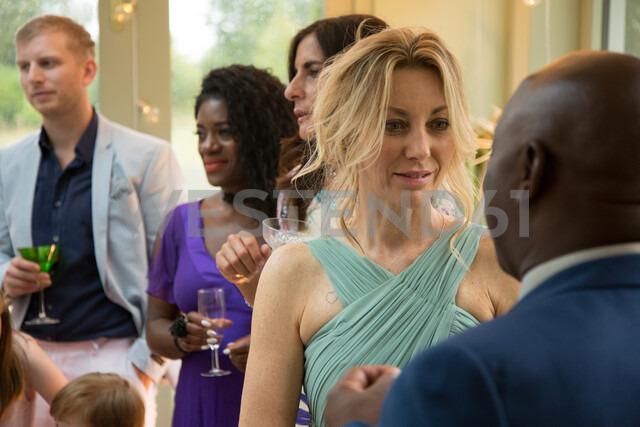 Wedding guests at reception - CUF47474