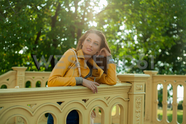 Woman on city break, Budapest, Hungary - CUF47774