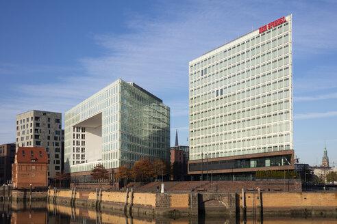 Germany, Hamburg, HafenCity, Ericusspitze, Spiegel publishing house - WI03729