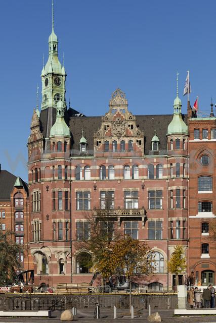 Deutschland, Hamburg, HafenCity, Speicherstadt, Speicherstadt-Rathaus, Verwaltungsgebäude - WIF03732