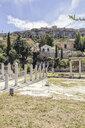 römische Agora und im Hintergrund Akropolis, Athen, Griechenland - MAMF00372