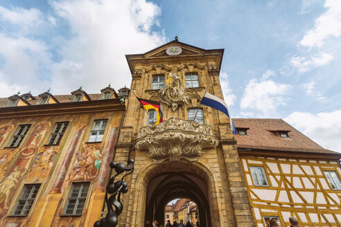 Germany, Bavaria, Bamberg, facade of the old town hall - TAM01127