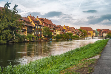 Germany, Bavaria, Bamberg, Little Venice and Regnitz river - TAMF01142