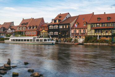 Germany, Bavaria, Bamberg, Little Venice and Regnitz river - TAMF01145