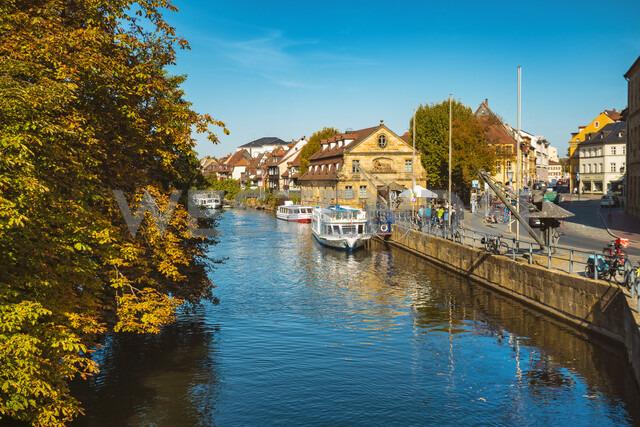 Germany, Bavaria, Bamberg, old town, Regnitz river - TAMF01163