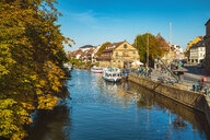 Germany, Bavaria, Bamberg, old town, Regnitz river - TAMF01163