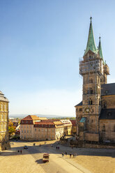 Germany, Bavaria, Bamberg, Bamberg Cathedral - TAMF01166