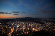 Cityscape at dusk, Seoul, South Korea - CUF48022