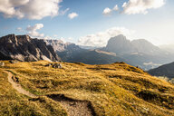 Natural preserve Puez-Geisler, Geislergruppe, Dolomites, Trentino-Alto Adige, Italy - CUF48282