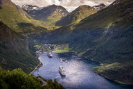 Cruise boats in Geiranger, Norway - FOLF10311