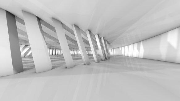 Futuristic room, 3D Rendering - SPCF00330