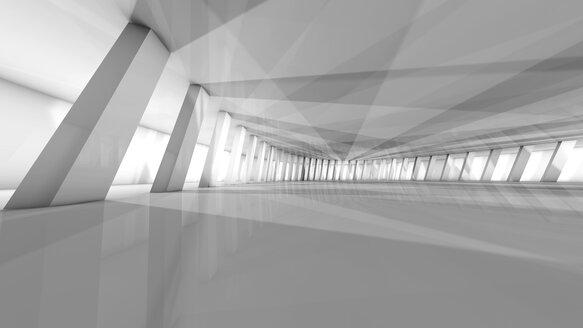 Futuristic room, 3D Rendering - SPCF00333