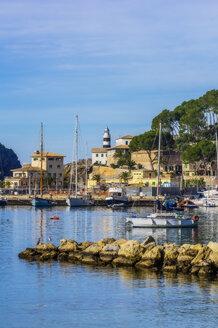 Spain, Mallorca, Port de Soller, harbour - THAF02443