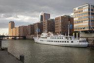 Germany, Hamburg, HafenCity, Sandtorhafen - WIF03773