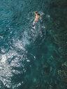 Man snorkeling in ocean - KNTF02607