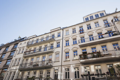 Germany, Berlin-Mitte, historical refurbished multi-family houses - GWF05804