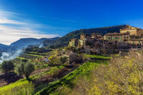 Spain, Mallorca, Valldemossa, mountain village - THAF02473