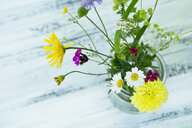 Wildflowers in preserving jar - ASF06277