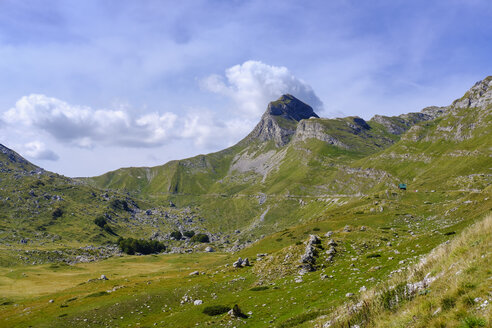 Montenegro, Durmitor National Park, Durmitor massif, mountain road, mountain Uvita Greda - SIEF08366