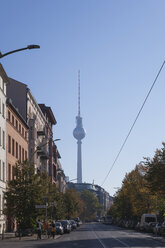 Germany, Berlin, view to Berlin TV Tower - GWF05826