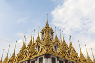 Thailand, Bangkok, close-up of Loha Prasat temple - WPEF01350