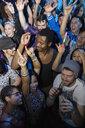 Crowd dancing on nightclub dance floor - HEROF14904