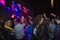 Crowd dancing at music concert - HEROF14943