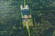 Germany, Bavaria, Aerial view of Herreninsel, Herrenchiemsee Castle - MMA00801