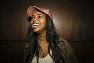 Confident, laughing female millennial - HEROF15298