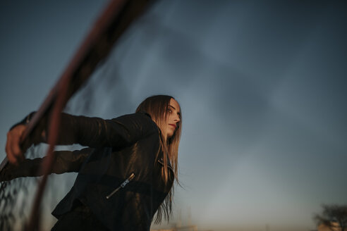 Pozoblanco, Cordoba, Spain, Urban girl, youth culture - DMGF00048