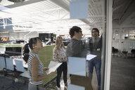 Business people brainstorming, meeting in office - HEROF17961