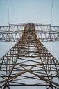 Power pylon seen from below - JSCF00155