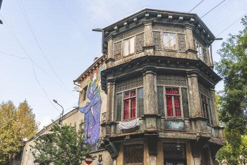 Georgien, Tiflis, Haus in der Altstadt - KEB01085