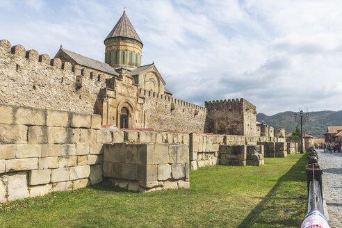 Georgien, Mzcheta, Swetizchoweli-Kathedrale - KEB01103