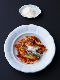 Penne pasta. Noodle with tomato sauce, all arrabiata - PPXF00154